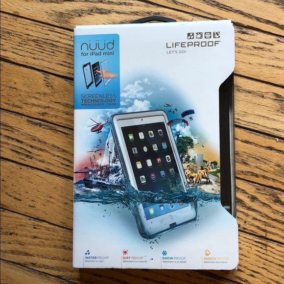 cheap for discount 59c74 4f158 LifeProof nuud iPad mini case New in Box Boutique